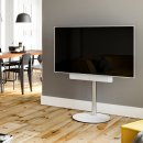 Spectral Circle VX1000 White Rotating TV Stand