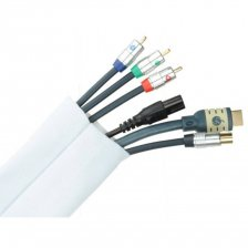 Fisual Cable Tidy Wrap 50mm Diameter White 2m