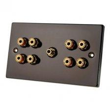 Fisual Speaker Wall Plate 4.1 Black Nickel