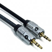 Fisual Pro Install Series 3.5mm Stereo Jack To Jack Cable 1m