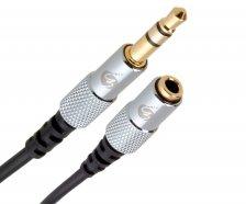 Fisual S-Flex Mini 3.5mm Jack Extension Cable 1.5m