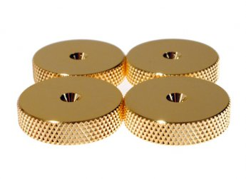 Fisual Gold Speaker Spike Shoes (4 Pack)