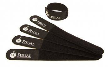 Fisual Chunky Cable Ties Black 40 Pack
