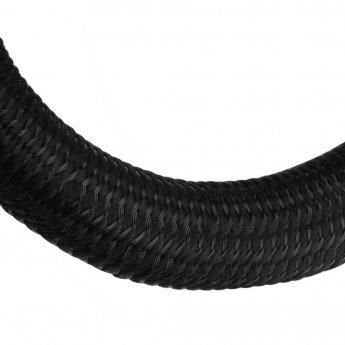 Fisual Black Expandable Self Closing Silent Cable Tidy Wrap 13mm - Price Per Metre