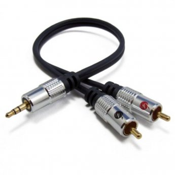 Fisual Pro Install Series 3.5mm Jack To Phono 3m