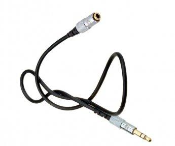 Fisual S-Flex Mini 3.5mm Jack Extension Cable 0.5m