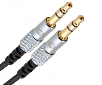 Fisual S-Flex Mini 3.5mm Jack To Jack Cable 1.5m