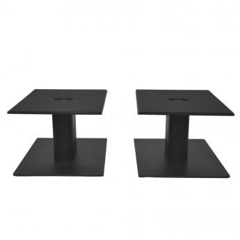 Fisual Dynami Matte Black Large Desktop Speaker Stands (Pair)