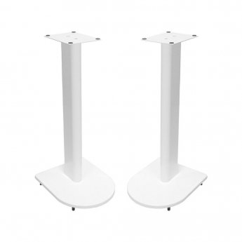 Fisual Dynami Uno Matte White Speaker Stands 600mm (Pair)