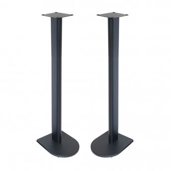 Fisual Dynami Uno Matte Black Speaker Stands 900mm (Pair)