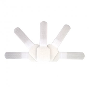 Fisual Adhesive Cable Ties White 10 Pack