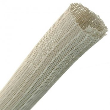 Fisual Silver Expandable Self Closing Cable Tidy 32mm - Price Per Metre