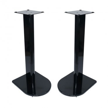 Fisual Dynami Uno Gloss Black Speaker Stands 500mm (Pair)