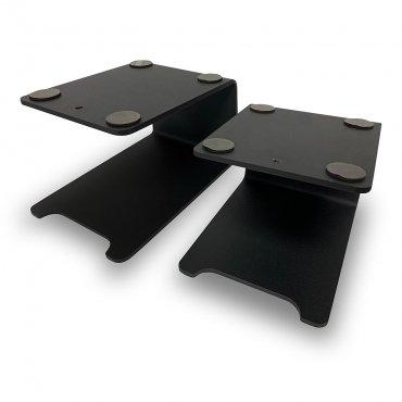 Fisual TTS1 Matte Black Desktop Speaker Stands (Pair)