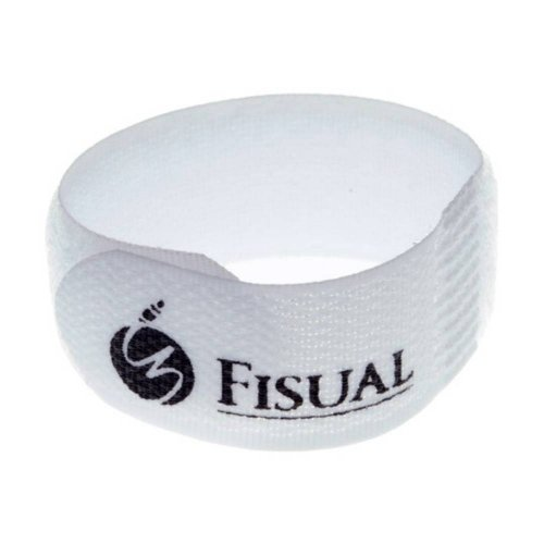 Fisual Chunky Cable Ties White 10 Pack
