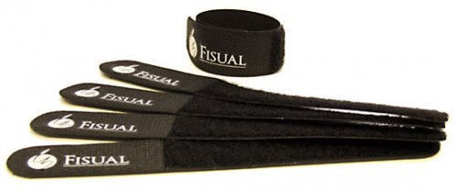 Fisual Chunky Cable Ties Black 20 Pack
