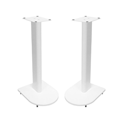 Fisual Dynami Uno Matte White Speaker Stands 500mm (Pair)