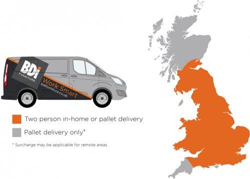 Delivery Map Van