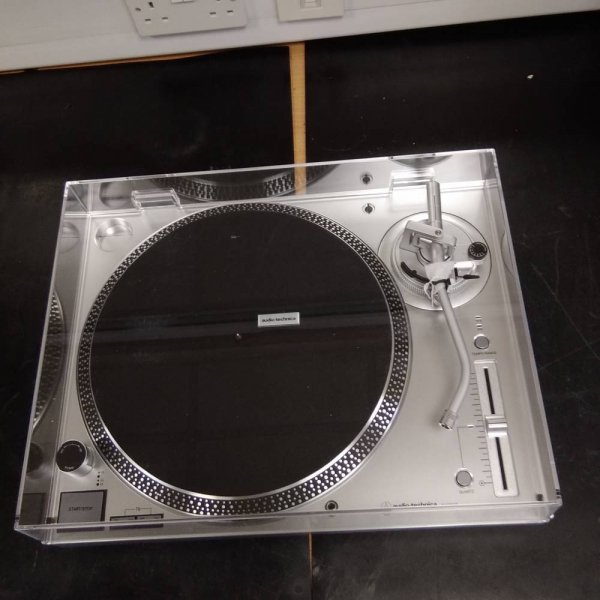 Audio Technica AT-LP120X Direct Drive Silver USB Turntable
