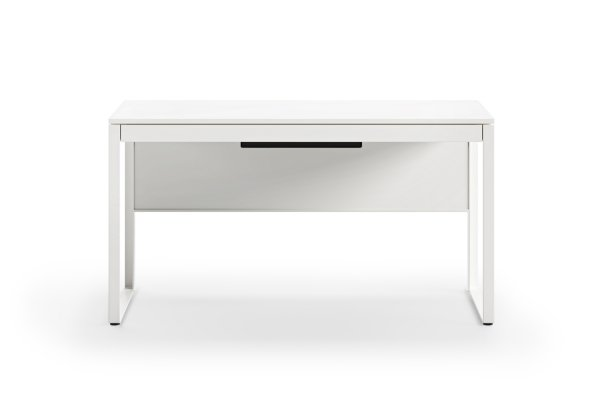 BDI Linea 6221 Satin White Desk