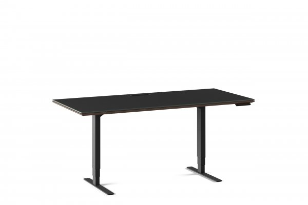 Sequel 20 6152 Lift Standing Desk Charcoal Stained Ash