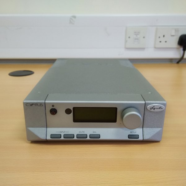 Cyrus DAC-XP Signature Black Pre-Amplifier