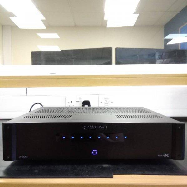 Emotiva Black BasX A-800 8 Channel Multi-Zone Power Amplifier