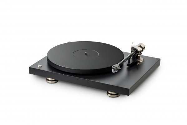 Pro-Ject Debut PRO Satin Black Turntable (Cartridge Included)