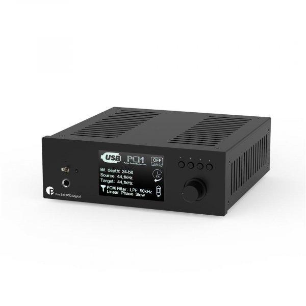 Pro-Ject Pre Box RS2 Digital Black Pre Amp