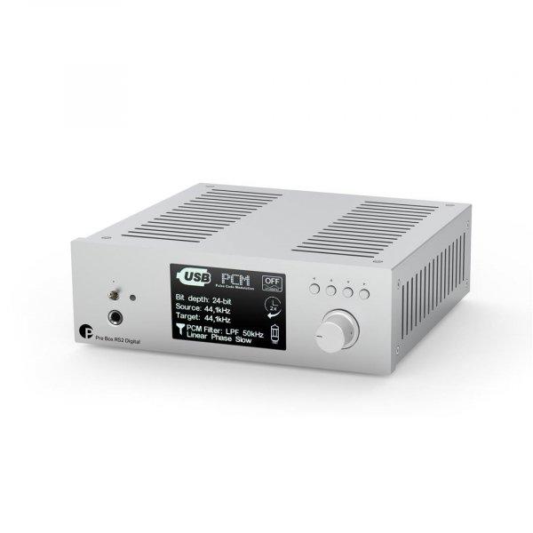 Pro-Ject Pre Box RS2 Digital Silver Pre Amp