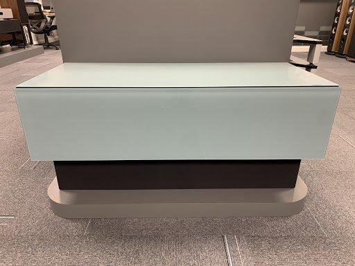 Spectral BRICK BR1201 Salbei Lowboard TV Cabinet w/ Universal Soundbar Plinth