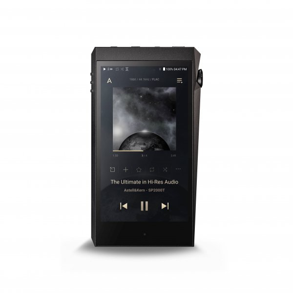 Astell & Kern SP2000T A&ultima Onyx Black High-Resolution Music Player
