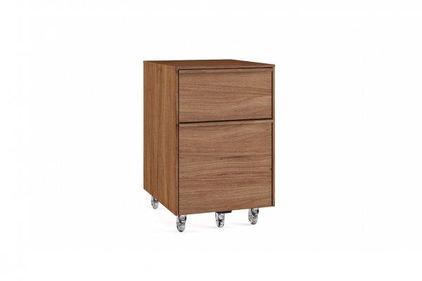 Cascadia 6207 Mobile File Pedestal Natural Walnut