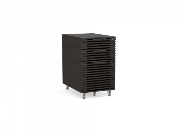 Corridor 6507 Mobile File Pedestal Charcoal Stained Ash