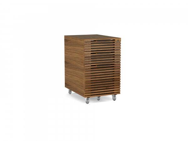 Corridor 6507 Mobile File Pedestal Natural Walnut