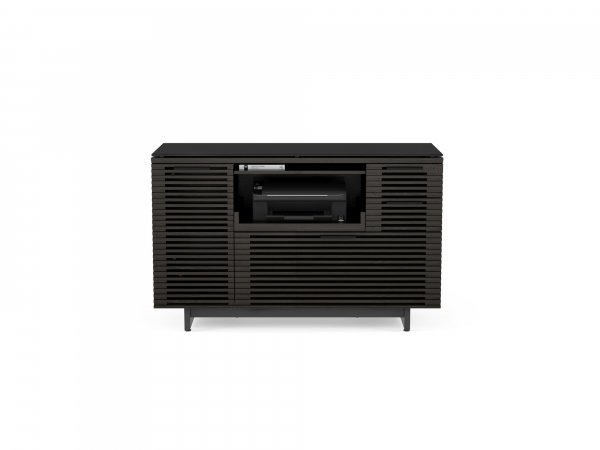 Corridor 6520 Multifunction Cabinet Charcoal Stained Ash