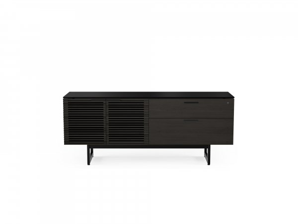 Corridor 6529 Credenza Charcoal Stained Ash