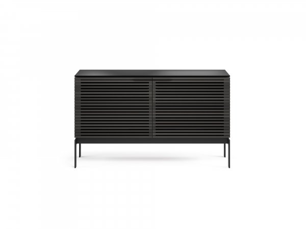 Corridor SV 7128 Media Cabinet Charcoal Stained Ash