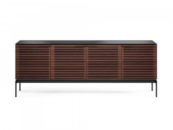 Corridor SV 7129 Media Console Chocolate Stained Walnut