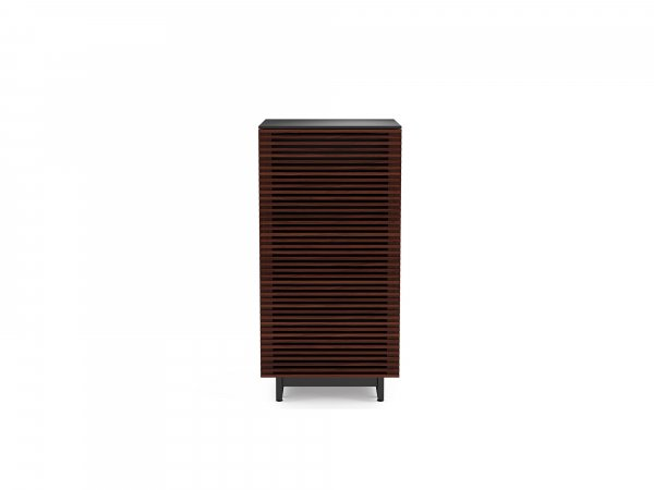 Corridor 8172 Audio Tower Chocolate Stained Walnut