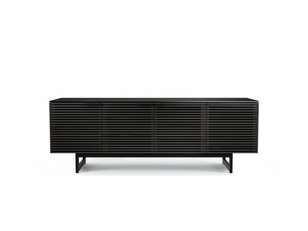Corridor 8179 Media Cabinet Charcoal Stained Ash