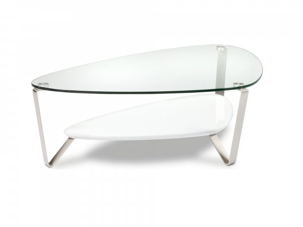Dino 1343 Coffee Table Gloss White