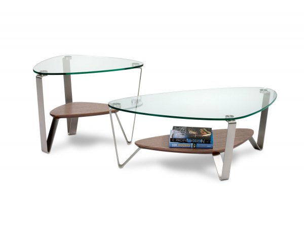 Dino 1344 Small Coffee Table Natural Walnut
