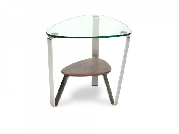 Dino 1347 End Table Chocolate Stained Walnut