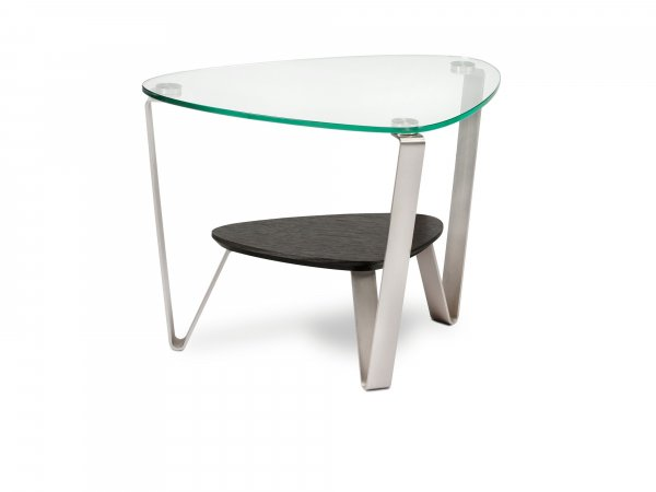 Dino 1347 End Table Espresso Stained Oak