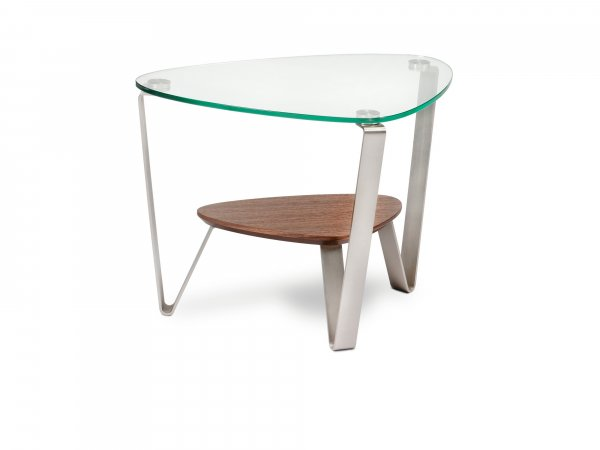 Dino 1347 End Table Natural Walnut