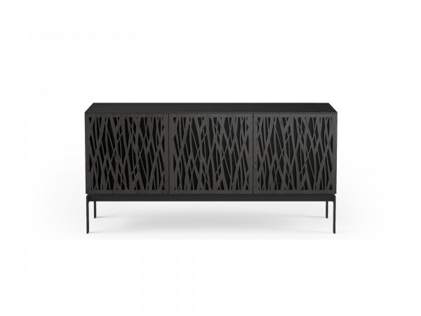 Elements 8777-CO Storage Console Wheat / Charcoal