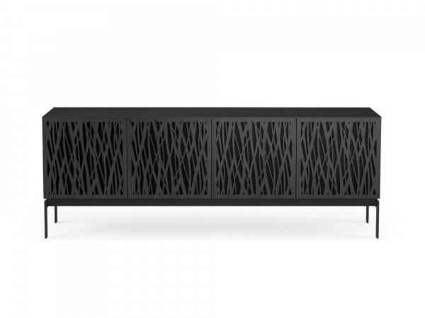 Elements 8779-CO Storage Console Wheat / Charcoal