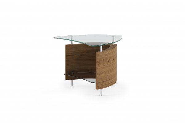 Fin 1110 End Table Natural Walnut