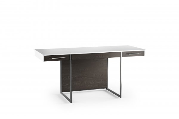 Format 6301 Desk Charcoal Stained Ash / Satin White
